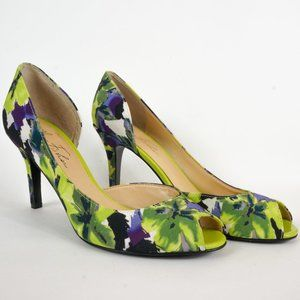 Marc Fisher Shoes - Marc Fisher Heels Joey 2 Floral D'Orsay Peep Toe